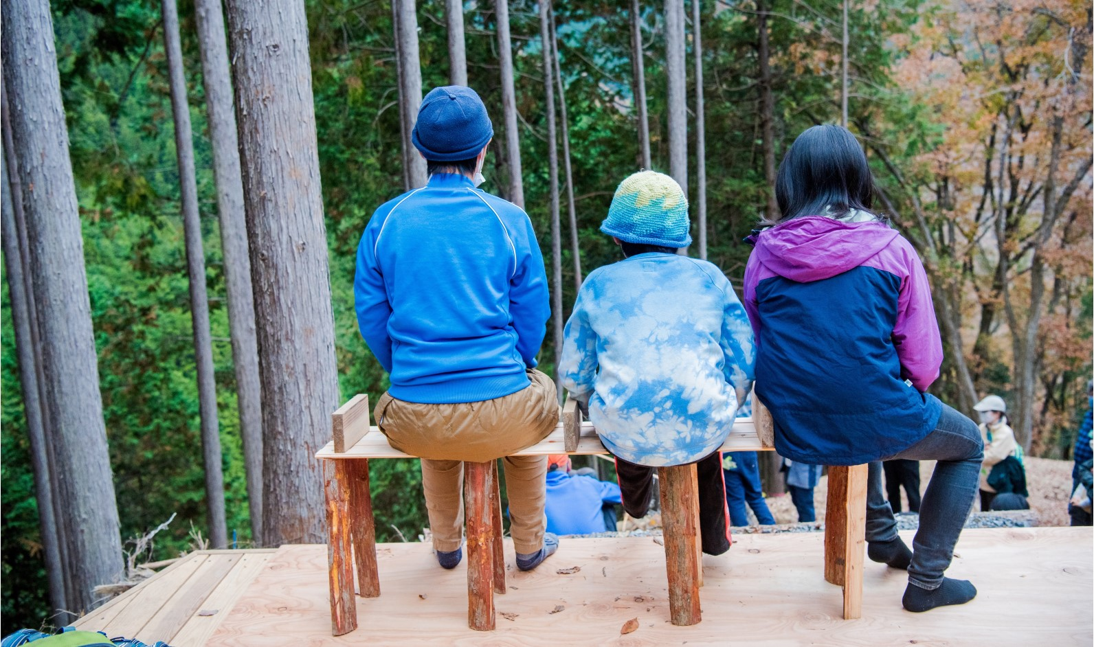 mökkiの森におかえりなさい#2 地球の学校ベンチづくりプロジェクト